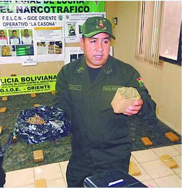 Bolivia es vía de transito para la supermarihuana