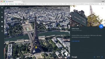 Google Earth llega ahora como aplicación en web