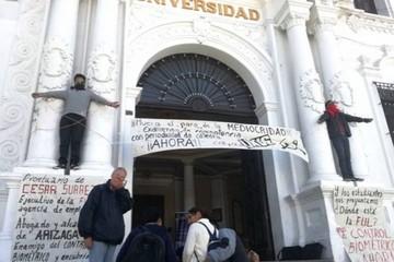 FUL inicia protestas por mayor control a docentes