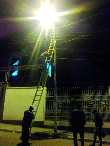 Comienza campaña de reposición de luminarias