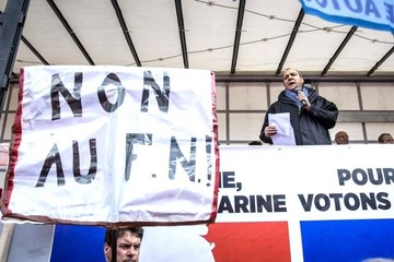 Enfrentamientos en una manifestación del 1 de mayo en París