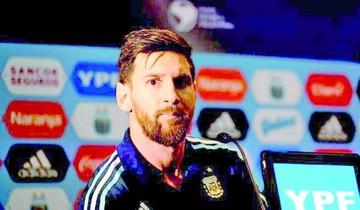 Messi prepara su descargo para reducir sanción