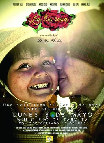 "Película ""Las tres rosas"" se proyectará en Tarvita"