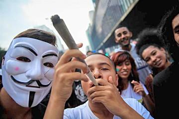 Brasil: Piden legalización del uso de la marihuana
