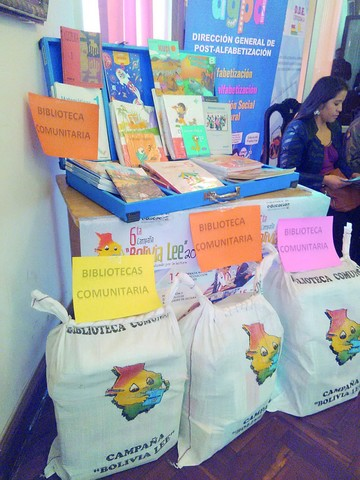 """Bolivia Lee"" recolectará libros para bibliotecas"