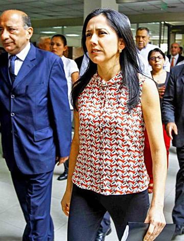 La esposa de Humala renuncia a la FAO