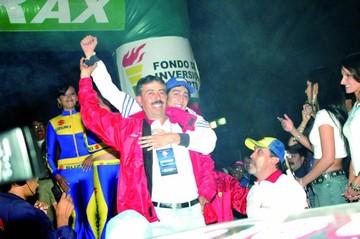 Peredo, una figura que irrumpió en el circuito Oscar Crespo