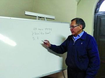 Lucio Benítez, amor por las matemáticas