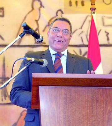 Embajador egipcio visita Sucre el 25 de Mayo