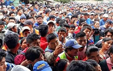 San Julián: Turba lincha a un acusado de asesinato