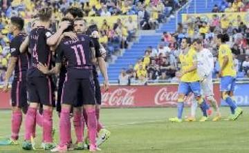 El Barça se relaja antes de su último partido por la Liga