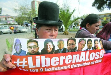 Familiares de detenidos envían carta a Bachelet