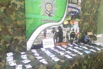 FELCN incauta 1 kilogramo de marihuana en dos operativos realizados en Sucre