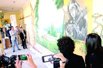 Matilde: Mural refleja una parte de su ser