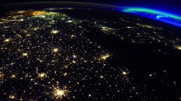 ¿Por qué Bélgica se ve brillante desde el espacio?