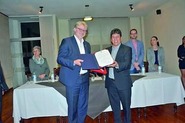 Alemania compromete apoyo al Sucre III