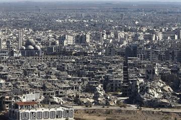 """Las autoridades sirias declaran """"libre de armas y armados"""" la ciudad de Homs"""