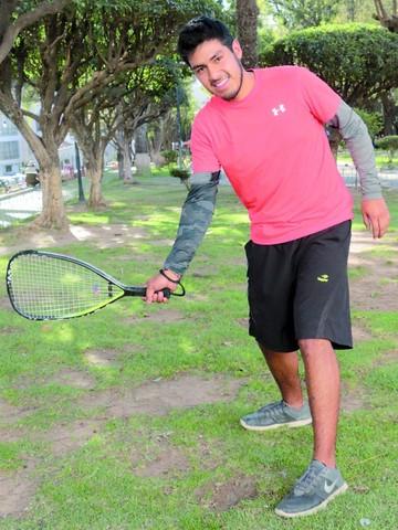José David Castro busca ser el mejor a nivel nacional