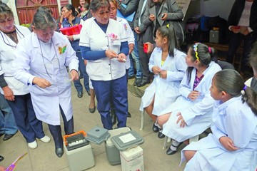 Vacunación contra VPH logró 92% de cobertura