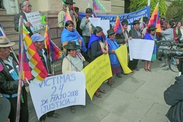 Piden rapidez en condena por hechos del 24 de mayo