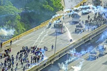 Protestas por libertad de expresión en Venezuela