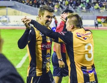 Un gol agónico en Oruro mantiene al Tigre con vida