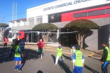 Sucre activó las calles para practicar deporte en el Día del Desafío