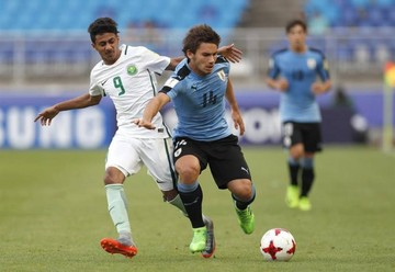 Sub 20: Uruguay avanza