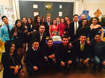Primer aniversario del Rotary Chuquisaca