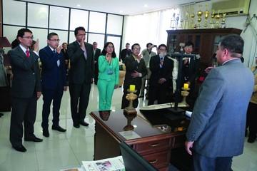 Posesionan a siete jueces para Chuquisaca