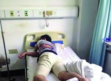 Esperaba un hijo y es operado de hemorroides por error