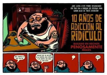 Marco Tóxico y las historietas