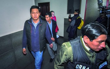 Implicados en caso taladros siguen en celdas policiales