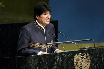 ONU: Morales denuncia invasión que privó a Bolivia del mar y perjuicio por paros en Chile