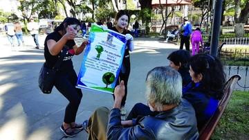 Exhortan a evitar fogatas y pirotecnia en San Juan