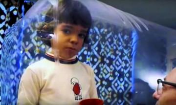 David Vetter el niño de la burbuja de plástico