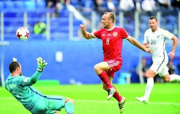 Rusia abre Copa con triunfo sin problemas