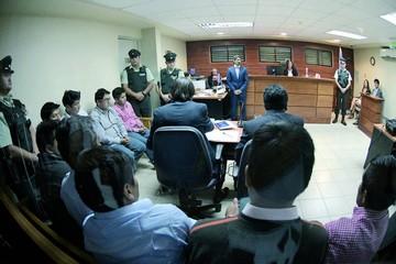 Los nueve detenidos en Chile se someterán a un juicio abreviado