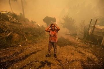 Portugal lucha por apagar dantesco incendio forestal