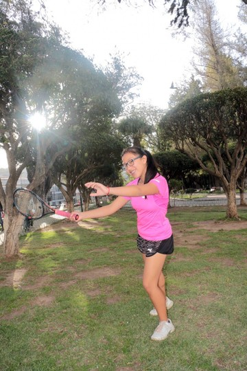 Fernanda Heredia para cumplir sus objetivos se fue a entrenar a China