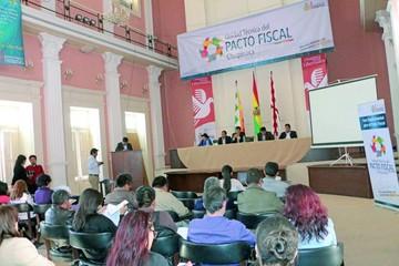 Chuquisaca define hoy su agenda  para el pacto fiscal