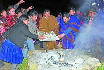 Celebran 5525 años andino-amazónicos en sitios sagrados