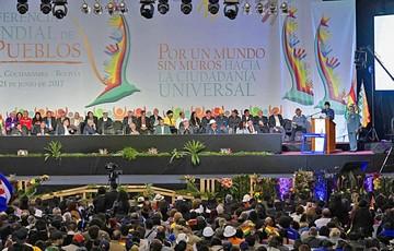 Foro de Tiquipaya postula una ciudadanía universal
