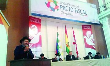 Urquizu retrata la dura realidad sobre la pobreza en Chuquisaca