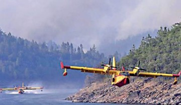 El feroz incendio forestal no da tregua en Portugal