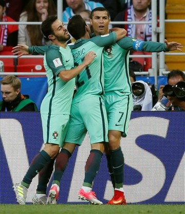 CR7 le da la victoria a Portugal con un gol sobre Rusia