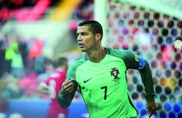 CR7 impulsa a Portugal
