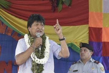 """Morales declara a los 9 sentenciados en Chile """"mártires de la reivindicación marítima"""""""