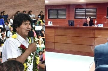 """Evo Morales dice que """"Chile es el Israel de Sudamérica"""""""