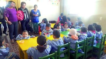 Inauguran centro infantil en el mercado Poconas